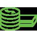 ícone de banco para sistema de cftv