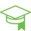 ícone de educação para sistema de cftv