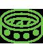ícone de esporte e entretenimento para sistema de cftv
